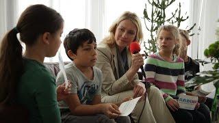 Internationaler Kindertag: Manuela Schwesig begrüßt Kinderreporter von Radijojo