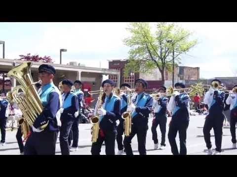 Harbour Pointe Middle School Marching Band - 2013