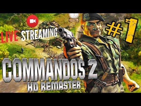 COMMANDOS 2 HD REMASTER ➤ ПРОХОЖДЕНИЕ #1➤ КЛАССИКА ВЕРНУЛАСЬ ➤ Коммандос 2 Ремастер 🔴