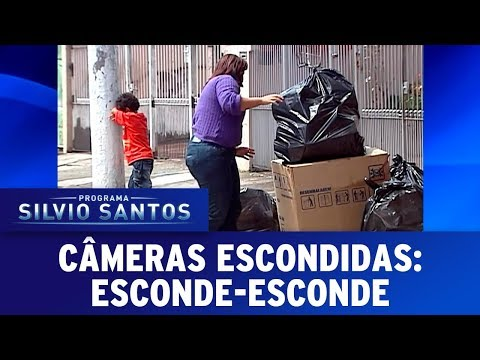Esconde-Esconde - Hide and Seek Prank | Câmeras Escondidas (19/11/17)