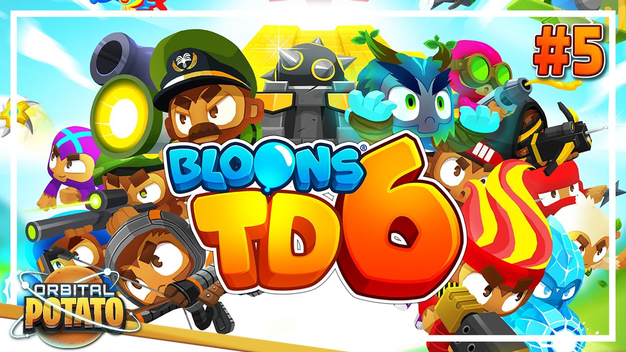 HMS BloonPopper! - Bloons TD 6 - Strategy Tower Defence Game - Episode #5