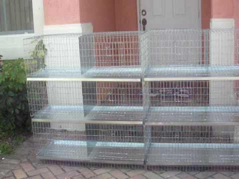 Jaulas d 24 huecos d todas las medidas para palomas d for Jaulas para cria de peces