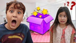 UMA CAIXA MÁGICA PARA MARIA CLARA E JP ♥ Maria and JP pretend play with Magic Box