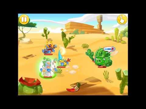 Angry Birds Epic-Eastern Desert Island-Walkthrough