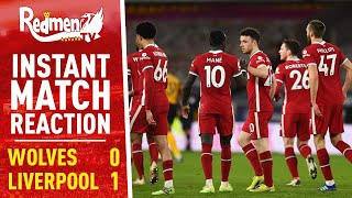 Wolves 0-1 Liverpool | Instant Match Reaction