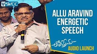 Allu Aravind about Pawan Kalyan Movie | Tholi P...