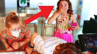 Sabre Hurt Sockie & made her Cry in Family Party Games *gone wrong*