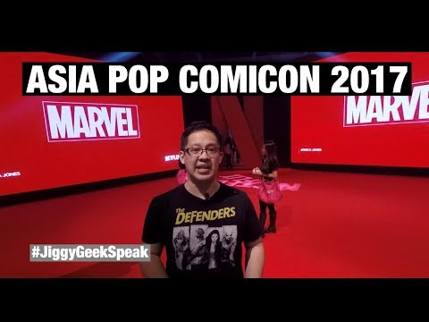 ASIA POP COMICON MANILA 2017 EXPERIENCE | GEEK SPEAK EPISODE 35 | JIGGY CRUZ