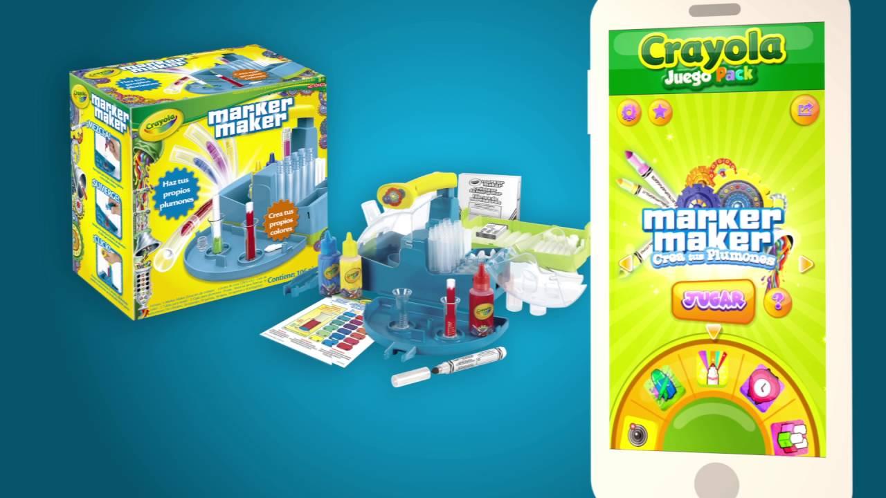 Crayola Juego Pack sigue creciendo! - YouTube