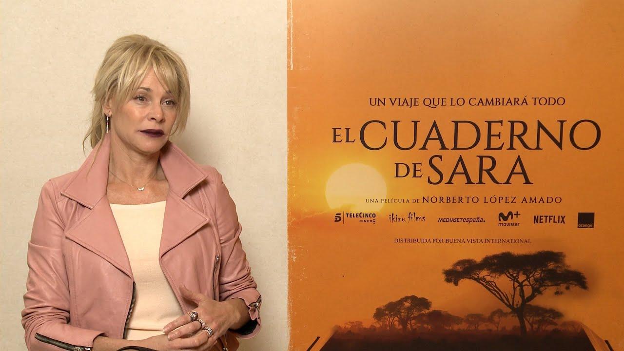Belén Rueda Presenta La Emocial Película El Cuaderno De Sara Youtube