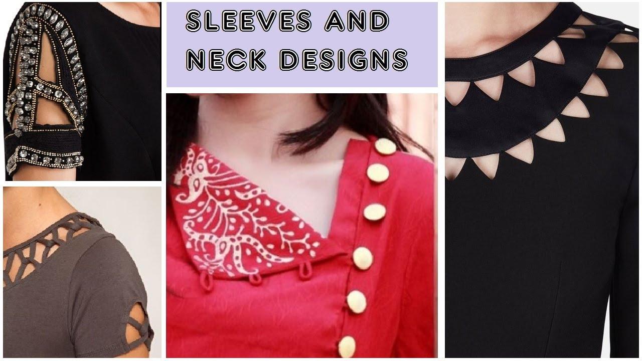 27b5ed9acc3125 Neck & Sleeves Designs | top stylish neck designs for girls / Women |  trendy Designs