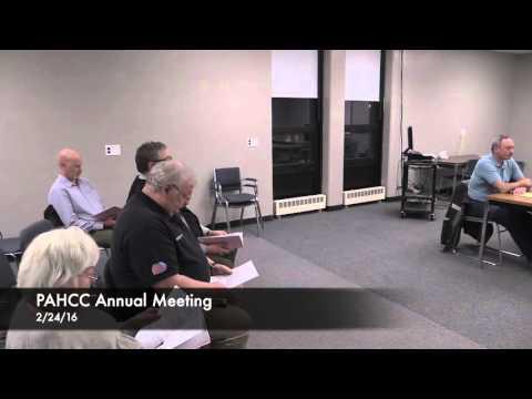 Patricia A Hannaford Career Center Annual Meeting 2016