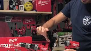 Milwaukee m12 drills