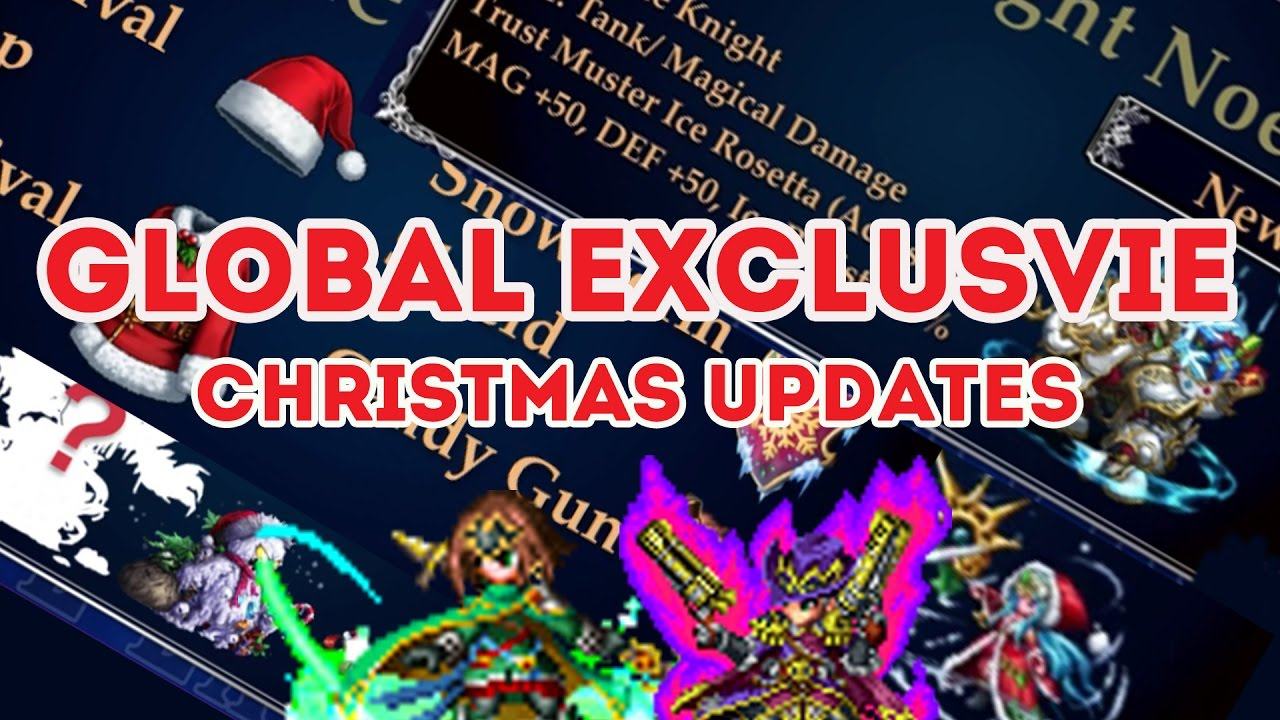 Final Fantasy Christmas.Final Fantasy Brave Exvius Christmas Holiday Update
