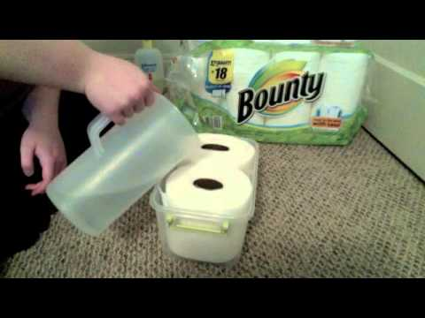How to Make Baby Wipes