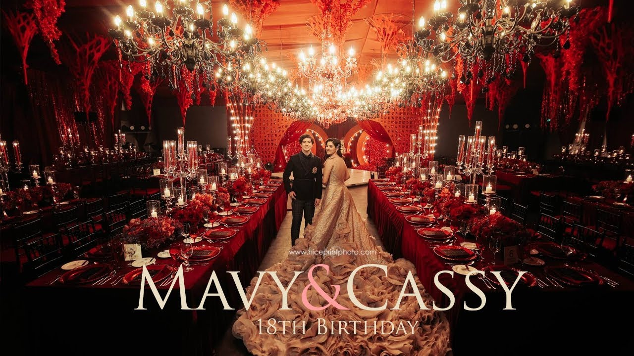 Mavy And Cassy Legaspis 18th Birthday