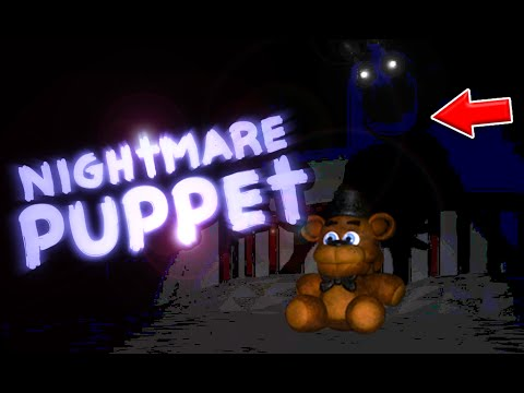 The Nightmare Puppet.. || Five Nights At Freddy's 4 Halloween ...