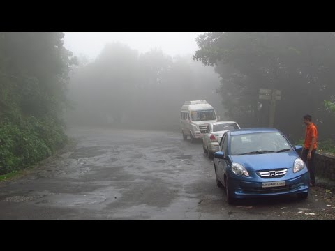 Driving by dangerous Agumbe ghats on a foggy day: Honda Amaze!