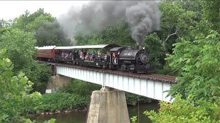 Steam On The Walkersville Southern - 2012 (in HD)
