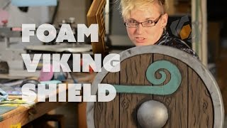 Prop: Live from the Shop - Making a Foam Viking Shield with the Viking Lass!