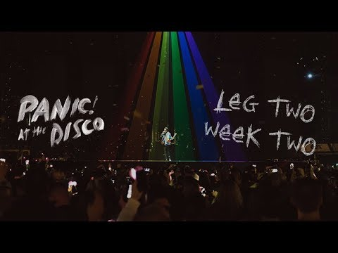 Panic! At The Disco - Pray For The Wicked Winter Tour (Week 2 Recap)