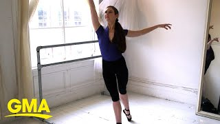 Try this at-home ballerina body workout l GMA Digital