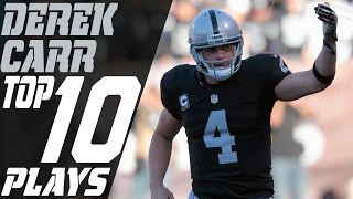 Derek Carr's Top 10 Plays of the 2016 Season | NFL Highlights
