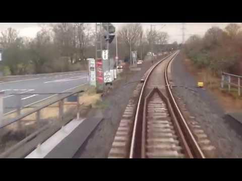 Homburger Bahn / von Bad Homburg nach Frankfurt/Main Hbf