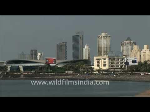 Mumbai's Marine lines and Nehru Center