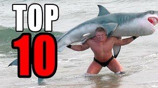 Top 10 Craziest Brock Lesnar Moments Ever