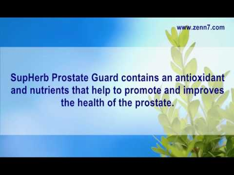 SupHerb Prostate Guard Review - Does SupHerb Prostate Guard Work