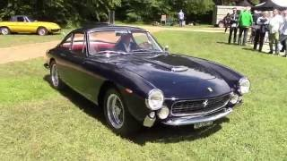 Ferrari 250 GT Lusso Start Up, Driving and Details