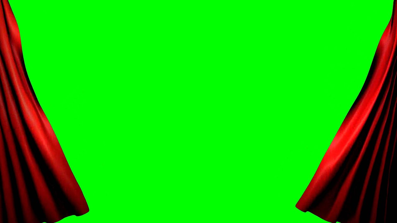 Green Screen Curtain Intro Youtube