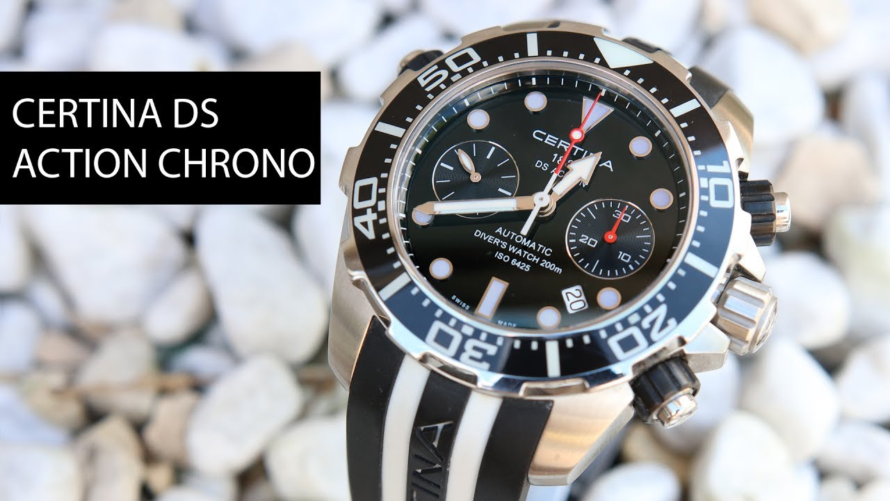 Certina DS Action Diver Chronograph - Test - Review