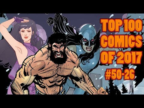 Top 100 Comics of 2017 - Part 2