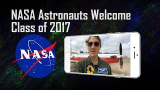 When NASA decided to announce a new class of astronaut candidates, ...