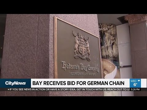 Business Report: Hudson's Bay receives unsolicited bid for German real estate