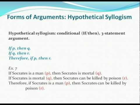write a hypothetical syllogism related to the issue or goal for gay marriage