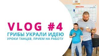 VLOG #4 ГРИБЫ УКРАЛИ ИДЕЮ / УРОКИ ТАНЦЕВ / ПРИЕМ НА РАБОТУ