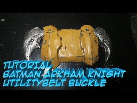 Tutorial: Make An Easy The Batman Arkham Knight UtilityBelt Buckle