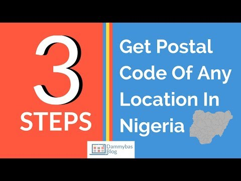 How To Find Postal Code (or Zip Code) Of Any Location In Nigeria In Just 3 Steps