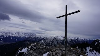 Wanderung auf das Ettaler Manndl in den Ammergauer Alpen