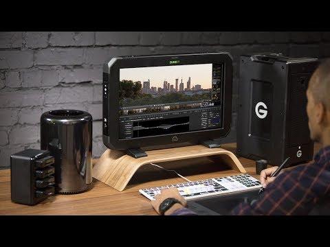 Atomos Displays Sumo Monitor/Recorder & Ninja Inferno with the GH5 at Cine Gear Expo 2017