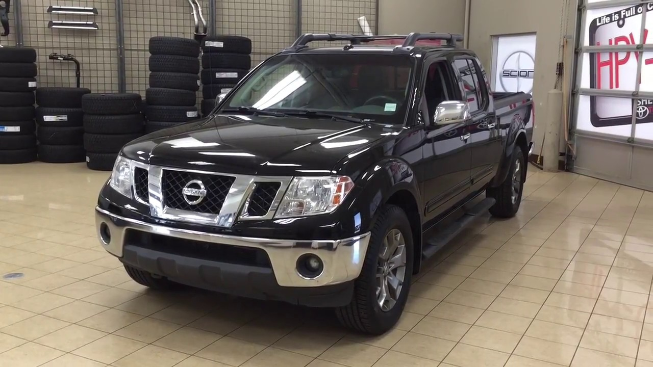 2014 Nissan Frontier SL Review