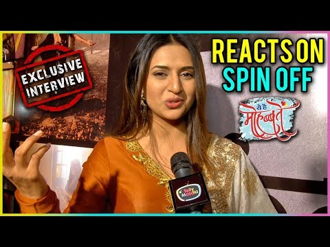 Divyanka Tripathi REACTS On Ye Hai Mohabbatein SPIN OFF | EXCLUSIVE Interview | TellyMasala