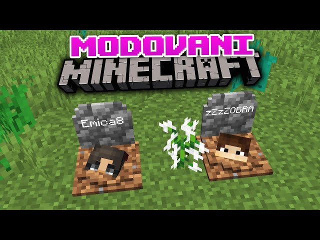 Modovano Minecraft Prezivljavanje E1- LUDILOOOOO KRECEEEE