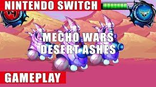 Mecho Wars: Desert Ashes Nintendo Switch Gameplay