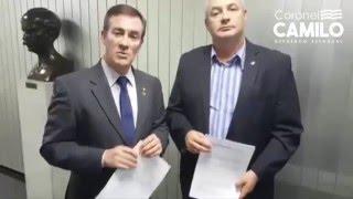 Coronel Camilo pede cassação do Deputado João Paulo Rillo
