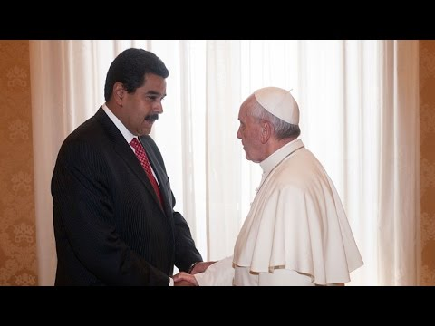President Maduro Calls on the Pope to Help Resolve Conflict with Opposition
