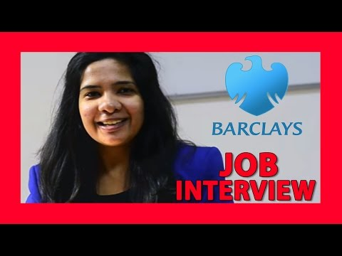 Job interviews for freshers | Barclays | Placement Boat
